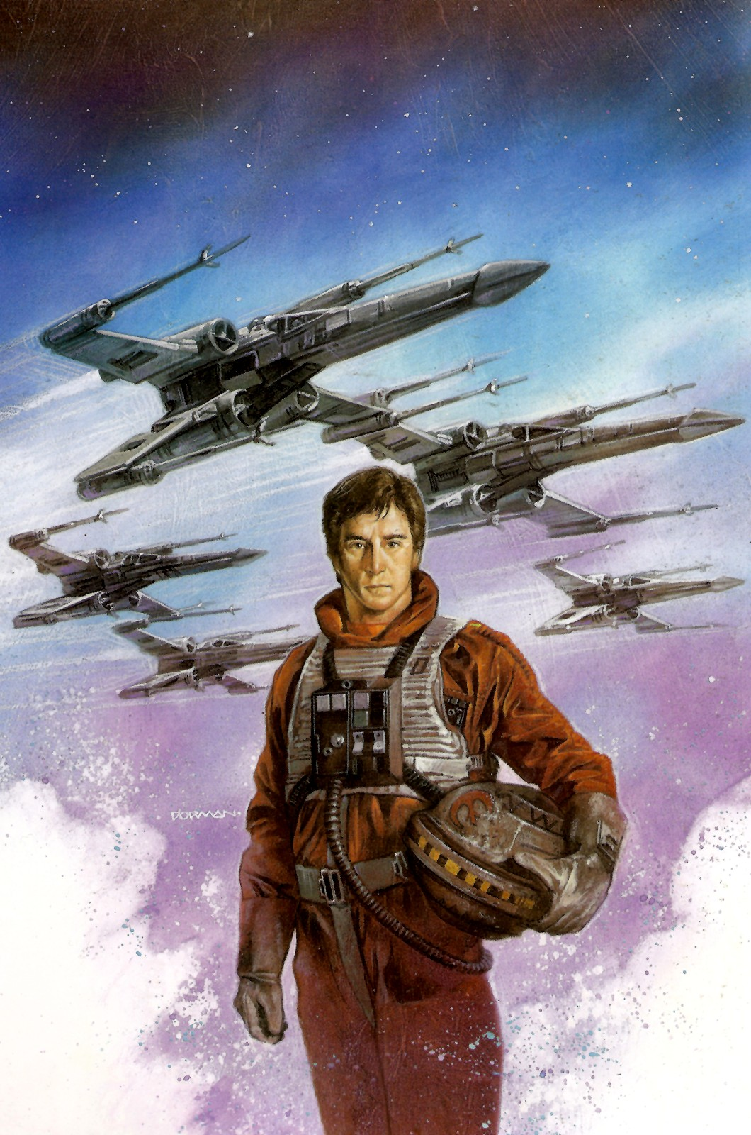 Wedge Antilles and Rogue Squadron